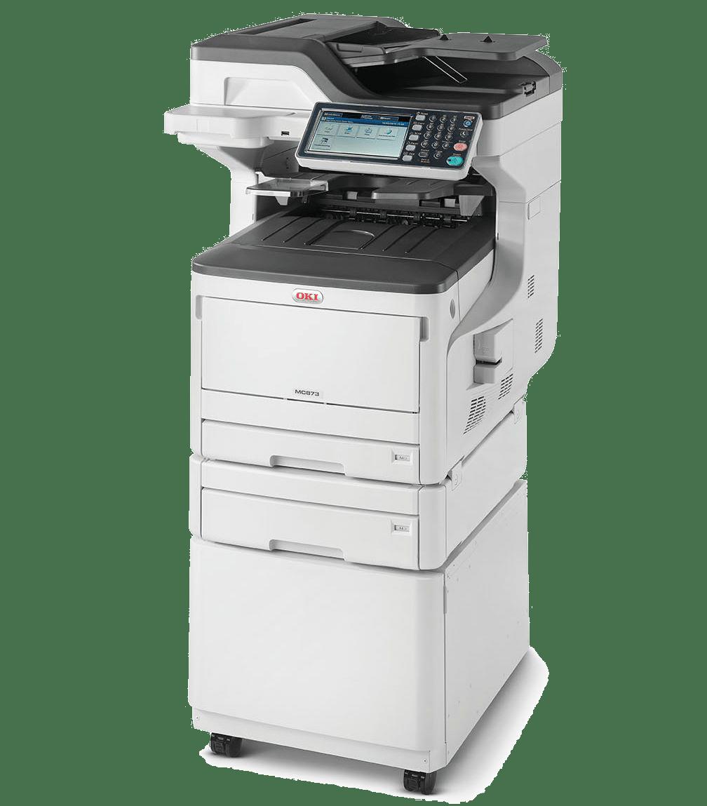 location entretien photocopieur MC873 OKI